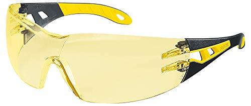 Uvex Pheos Schutzbrille - Supravision Excellence - Gelb/Schwarz-Gelb