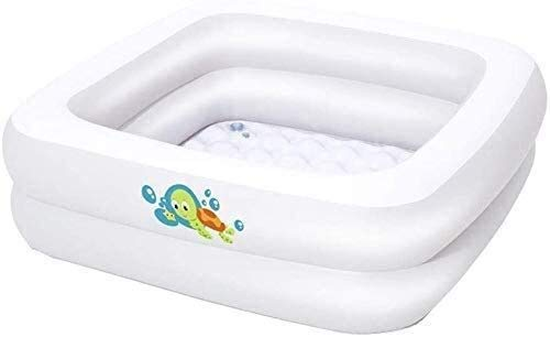kyman Piscina Plegable, Piscina Inflable, Piscina de vadeo, bañera bebé, bañera Duradera para Adultos Plegables, Piscina de Bolas de océano, Película Pool Toys Peng Peng Peng