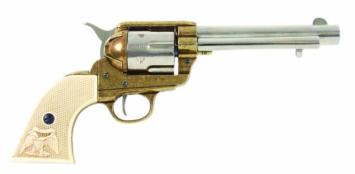Colt Revolver Kunstharzgriff 1873 Peacemaker Kal. 45 5,5 Zoll messing