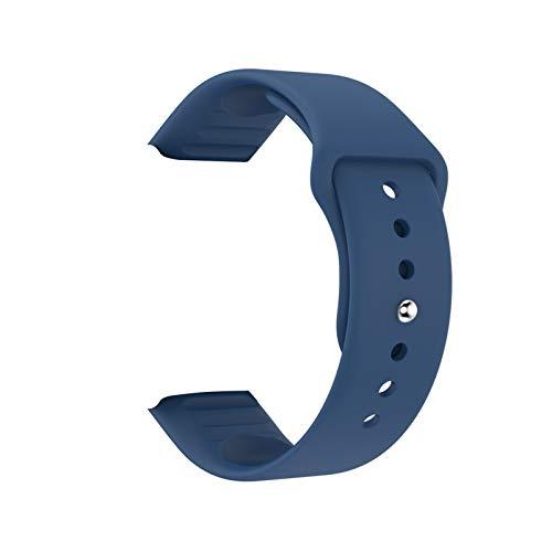 GYY Silicona Durable Y68 Y68PLUS X6PLUS D20 Reloj Correa de muñeca para Reloj Inteligente Y68 SmartWatch Impermeable Strap de Pulsera reemplazable (Color : Blue)