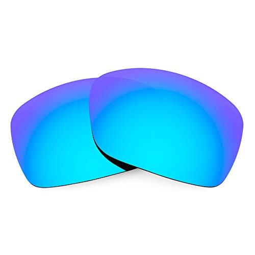 Revant Verres de Rechange pour Oakley Ravishing, Polarisés, Bleu Glacier MirrorShield