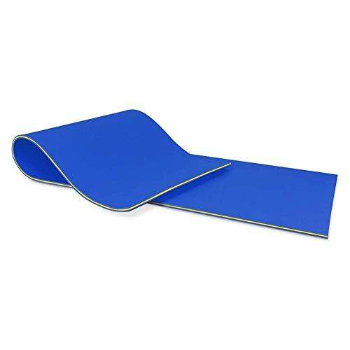 Esterilla flotante para agua, de espuma XPE, antidesgarros, de 2/3 capas, duradera, flotante, para ninfeas, para actividades creativas y relax, flotador para piscinas, lagos o espía