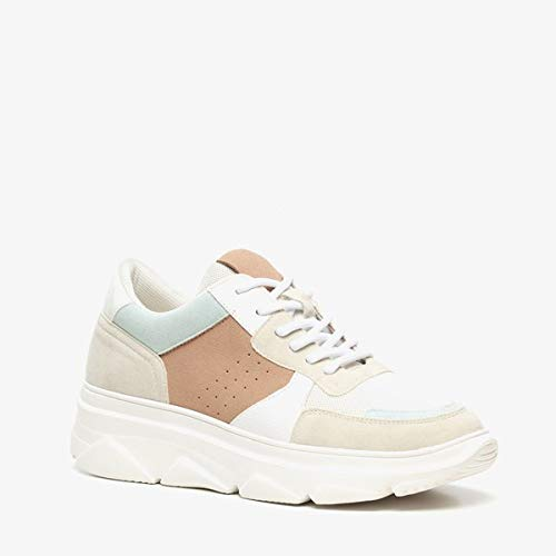 Blue Box dames Dad sneakers - Wit