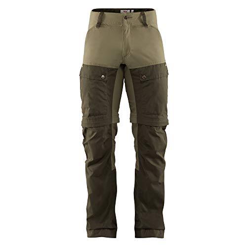 FJALLRAVEN Herren Keb Gaiter Trousers M Hose, Grün (deep Forest/Laurel Green), 52