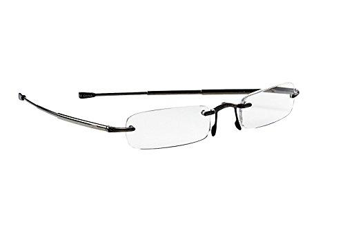 Price comparison product image Callaway R915-FB Scorecard Reader Flip-top Glasses,  Black