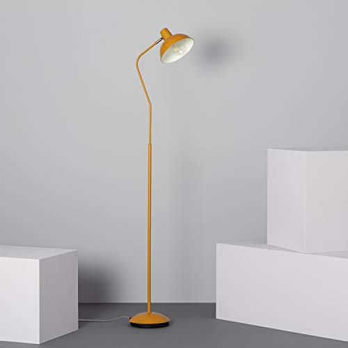 LEDKIA LIGHTING Lámpara de Pie Sahani Mostaza