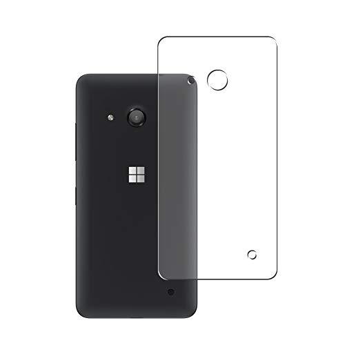 Vaxson 2 Stück Rückseite Schutzfolie, kompatibel mit Microsoft Lumia 550, Backcover Skin TPU Folie Haut [nicht Panzerglas Bildschirmschutzfolie Hülle Hülle ]