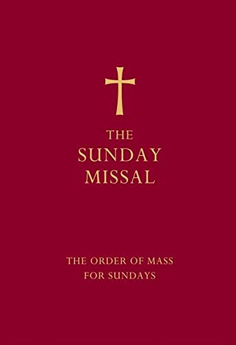 The Sunday Missal (Red Edition)
