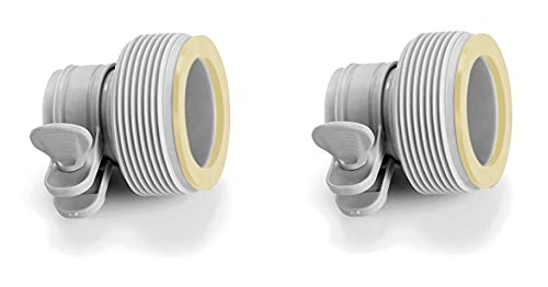 Intex 29061 Intex-29061-Pack 2 adaptadores(b) depuradoras
