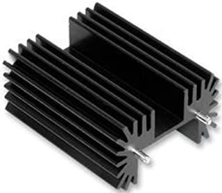 TO-220 Aluminum Heat Sink Kits Triode Heatsink Radiator Black Anodized