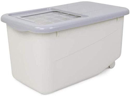 Opbergdoos voor muesli-ijsblok, voor keuken, verzegelde rijst, emmer, meel, opslag, emmer, rijst, emmer, vochtbestendig, insectenbestendige rijst cilinder, huishouden, levensmiddelcontainer