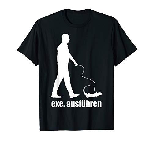 Sys Admin Dev Ops Programmierer Informatiker EXE Ausführen T-Shirt