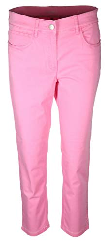 Zerres Damen Jeans Carla Größe 42 EU Pink (pink)