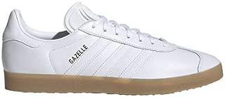 adidas Gazelle Shoes Men's, White, Size 9