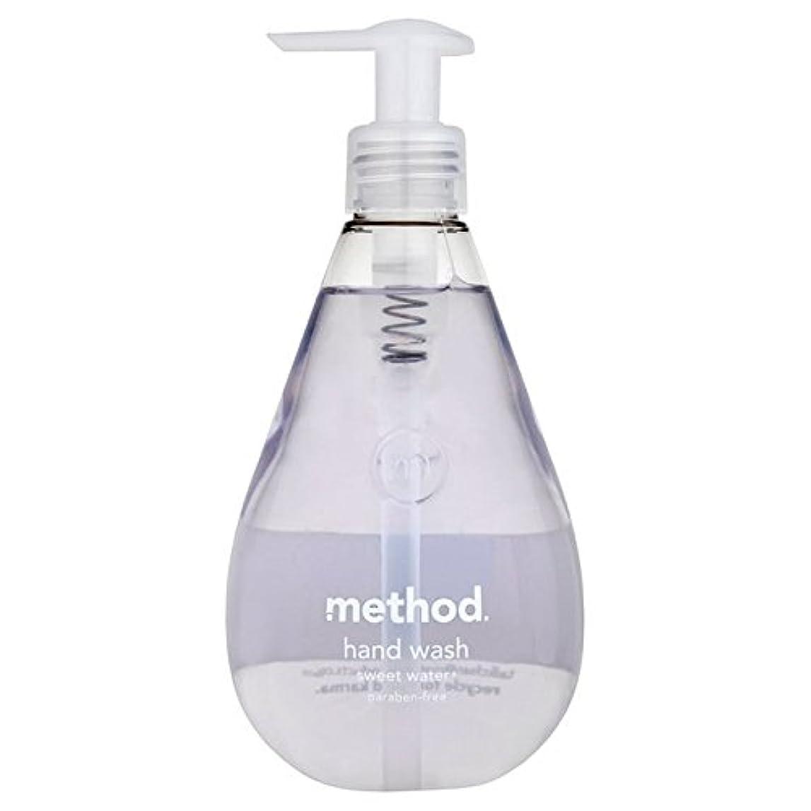 めまい横天窓Method Sweet Water Handsoap 354ml (Pack of 6) - メソッドの甘い水の354ミリリットル x6 [並行輸入品]