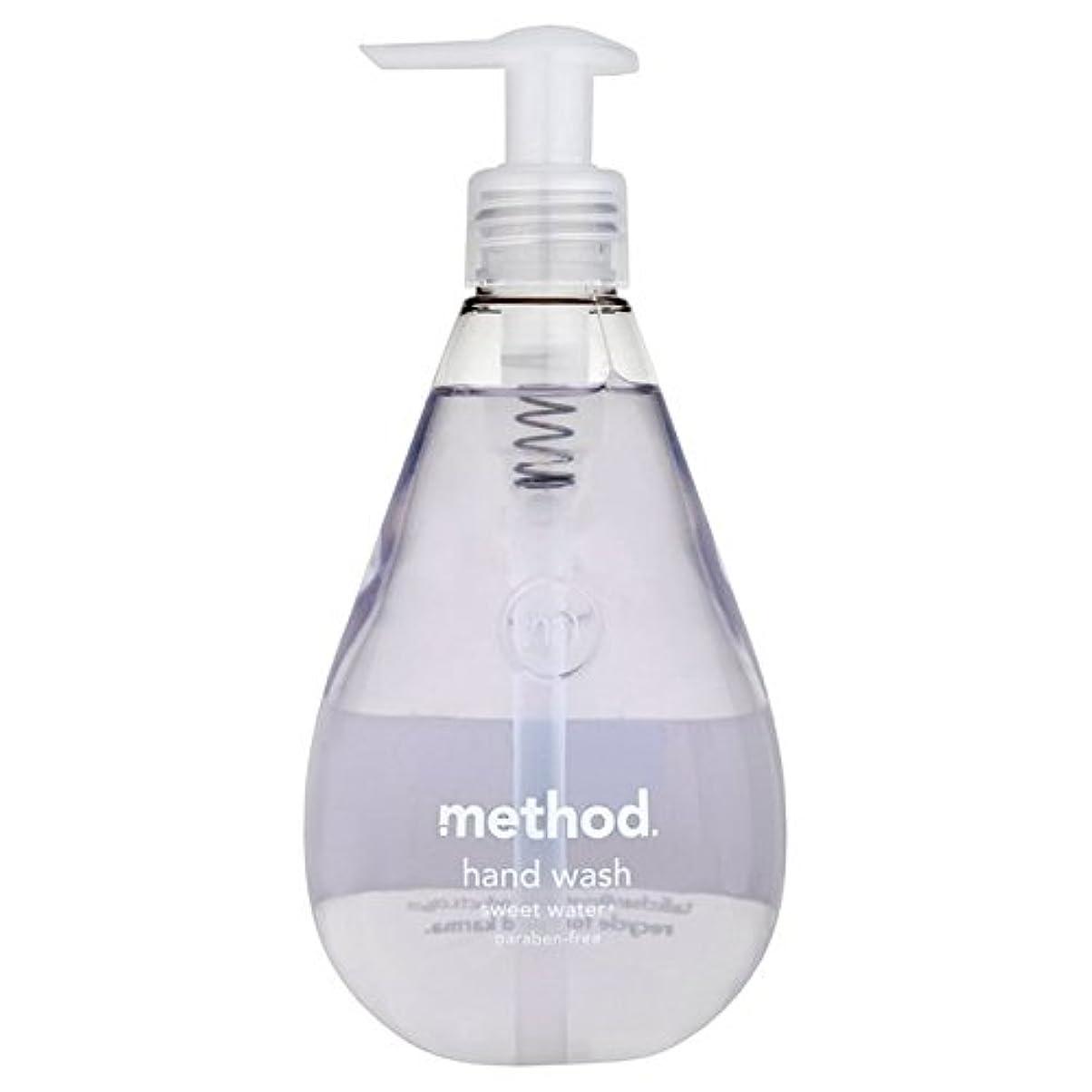 の間でものの面ではメソッドの甘い水の354ミリリットル x4 - Method Sweet Water Handsoap 354ml (Pack of 4) [並行輸入品]