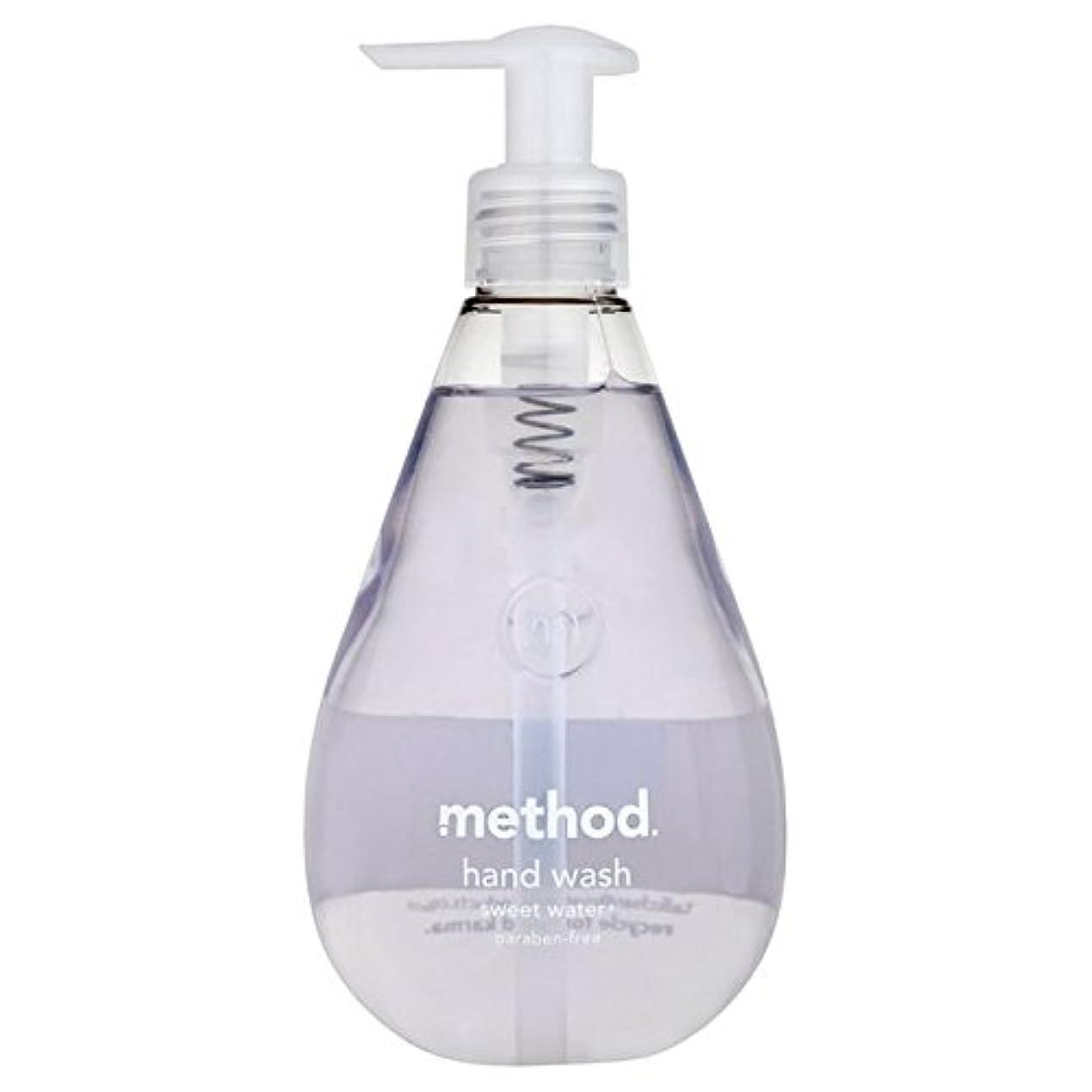 遺棄された根拠保持Method Sweet Water Handsoap 354ml (Pack of 6) - メソッドの甘い水の354ミリリットル x6 [並行輸入品]