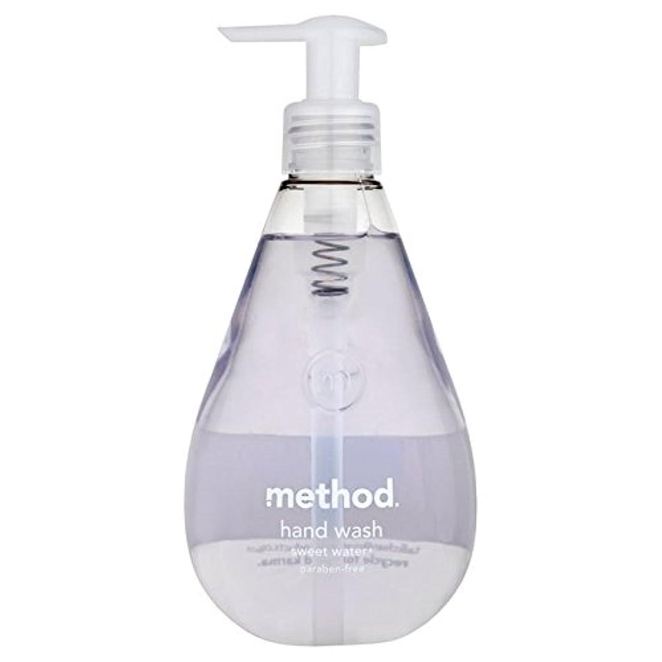 弱めるバーチャル恵みメソッドの甘い水の354ミリリットル x4 - Method Sweet Water Handsoap 354ml (Pack of 4) [並行輸入品]
