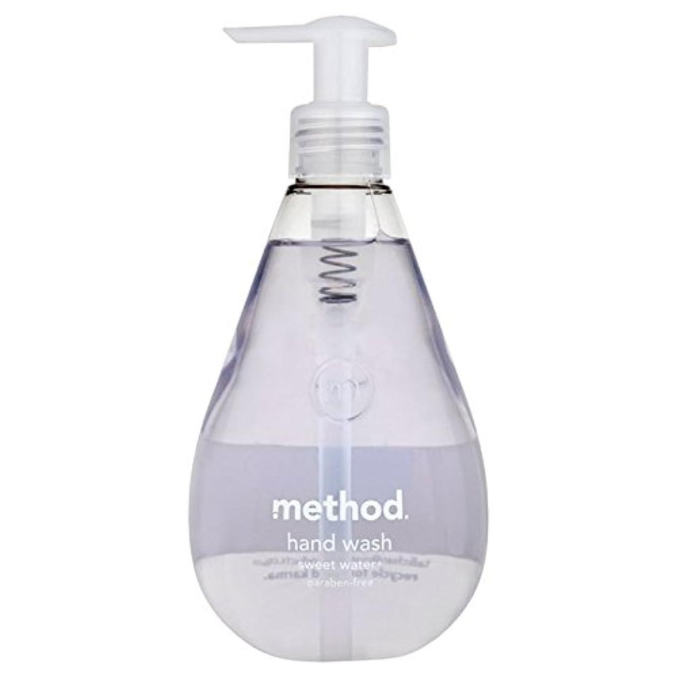 腹部ヒョウ微弱Method Sweet Water Handsoap 354ml - メソッドの甘い水の354ミリリットル [並行輸入品]