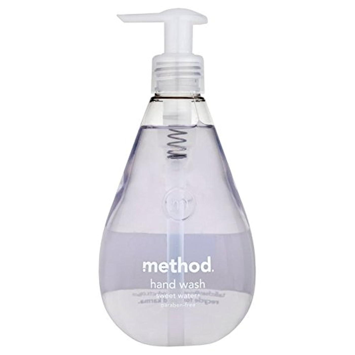 ハッピー人南アメリカMethod Sweet Water Handsoap 354ml (Pack of 6) - メソッドの甘い水の354ミリリットル x6 [並行輸入品]