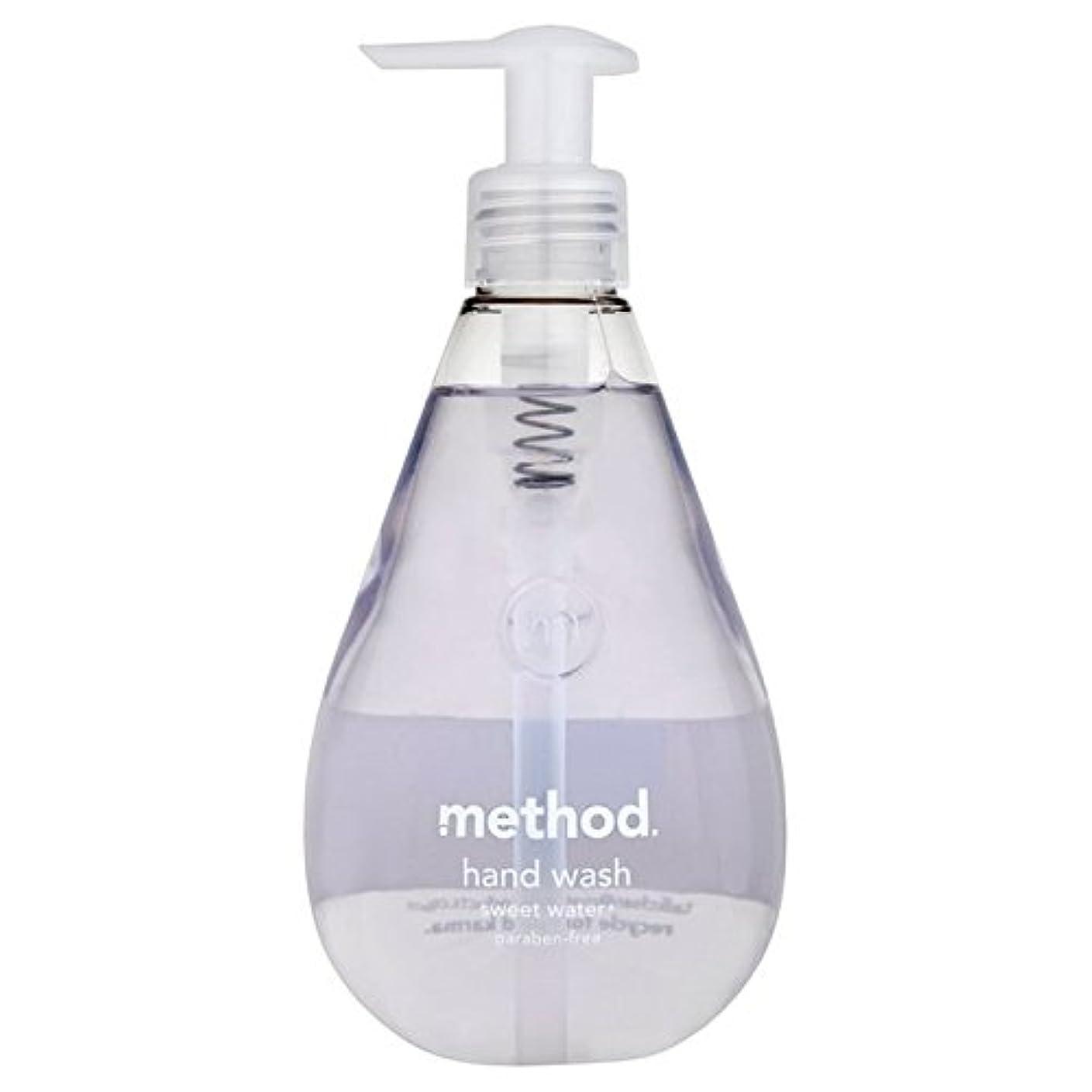 見落とす申し立てる効果的メソッドの甘い水の354ミリリットル x2 - Method Sweet Water Handsoap 354ml (Pack of 2) [並行輸入品]