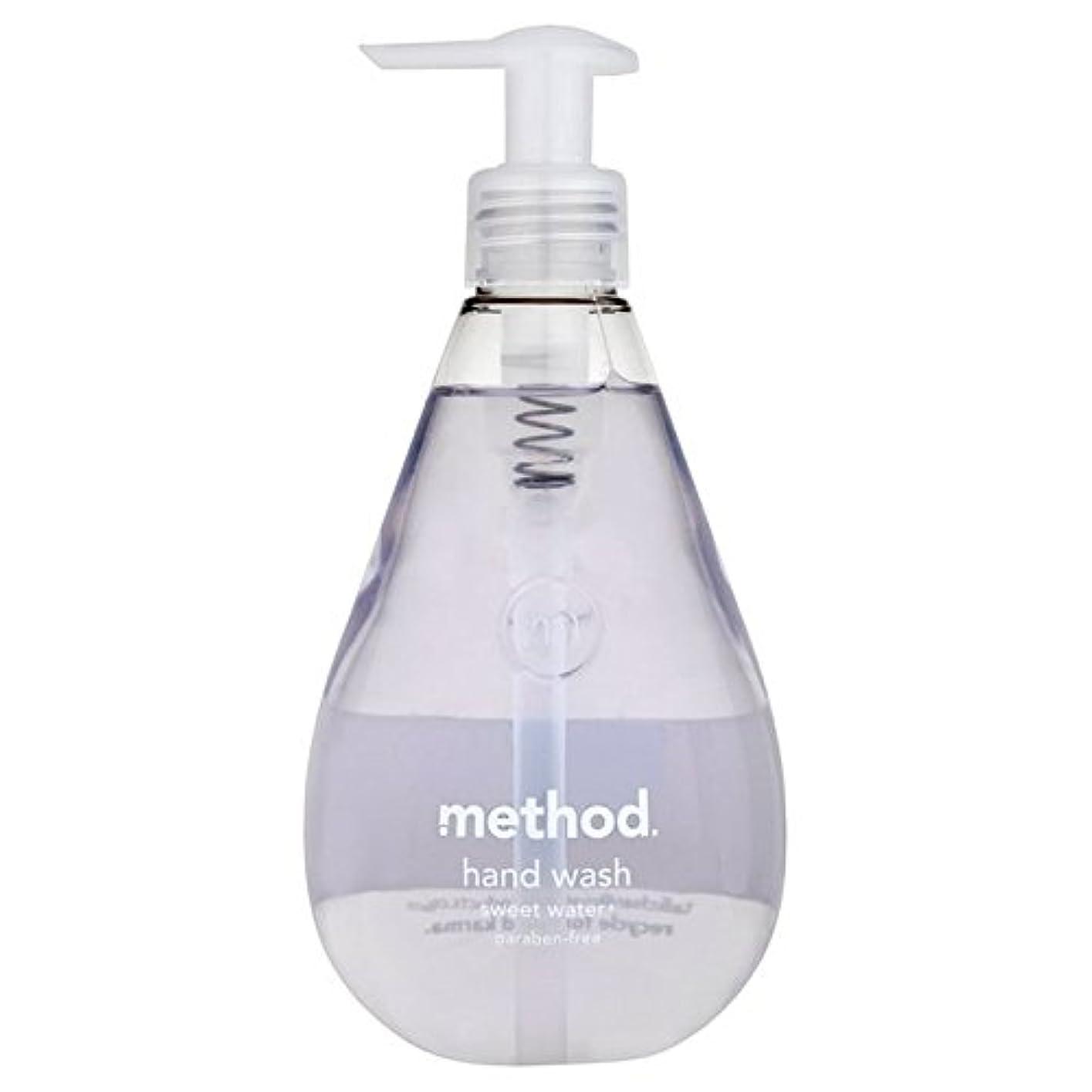 政令リマーク項目Method Sweet Water Handsoap 354ml (Pack of 6) - メソッドの甘い水の354ミリリットル x6 [並行輸入品]