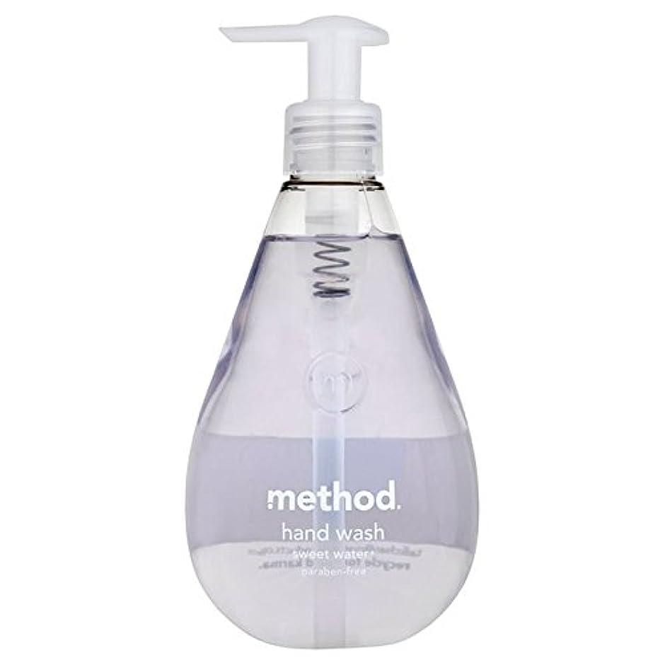 再生おとうさんコールドMethod Sweet Water Handsoap 354ml (Pack of 6) - メソッドの甘い水の354ミリリットル x6 [並行輸入品]