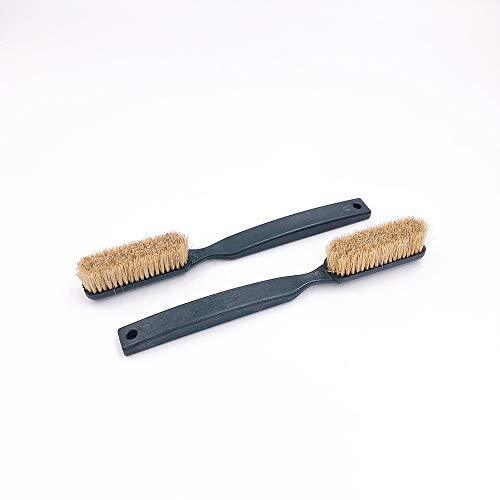 "Happy reunion Climbing Brush Premium Boar's Hair Rock Climbing and Bouldering Brush 7.09"" Climbing clearn Brush Rock Climbing Brush Made from Recycled Material Pack of 2 (2 pcs Black)"