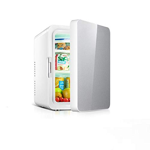 Mini Nevera Nevera Combimini Refrigerador Doble Del Refrigerador Del Coche 10L Para El Hogar Y El Hogar Refrigerador Pequeño Refrigerador Refrigerador Termostato-A
