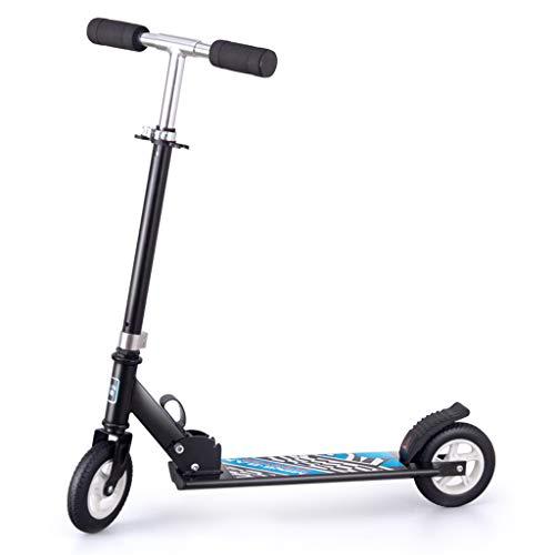 WRRAC-Trampolin Scooter Complete Trick Scooter Freestyle Cubierta de Aluminio Mecanismo de absorción de Impactos Ruedas Grandes de 150 mm para niños de 6 años en adelante, niños, niñas, Adolescentes