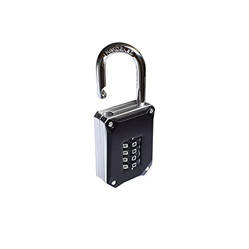 Pirhosigma 2 unids negro reajustable 3 dígitos combinación contraseña candado código bloqueo para maleta equipaje viaje mochila equipaje equipaje