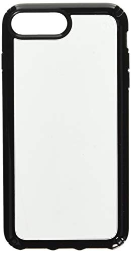 Speck Products Presidio Show Cell Phone Case for iPhone 8 Plus - Clear/Black