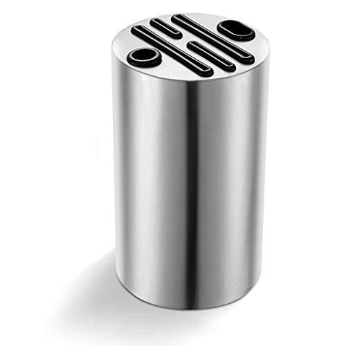 WINON Portacuchillas de Acero Inoxidable for Multi Cuchillo de Cocina Bandeja de cocción Bloque del Cuchillo Utensilios Cuchillos Organizador Párese Herramienta Bloque Soporte para Cuchillos