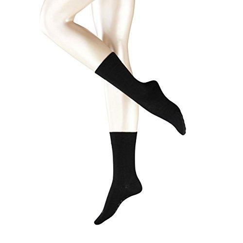 FALKE Damen Socken Berlin Sensitive 3er Pack, Größe:39-42;Farbe:Black (3009)