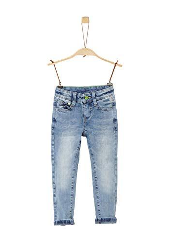 s.Oliver Jungen 68.912.71.3529 Jeans, Blau (Blue Denim Stretch 54z1), (Herstellergröße: 128)