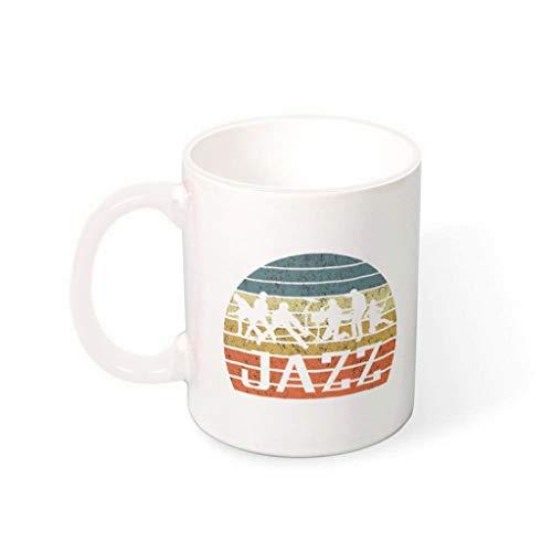 Zaclay Taza de cereales con asa, cerámica de alta calidad, humor Mug – Navidad, apta para familia White 330 ml