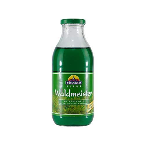 Mühlhäuser Waldmeister Getränkesirup (12 x 0,5L)