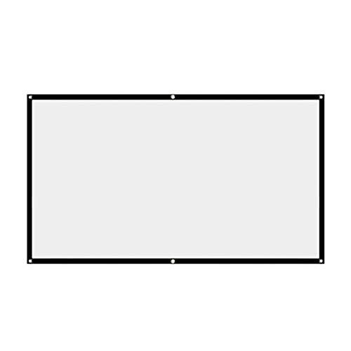 Gwendolyn Pulldown-Projektor-ScreenenSimple-Vorhang Anti-Licht-Bildschirm 120inches 150inches Home Outdoor Office Portable 3D HD-Projektor-Bildschirm (Size : 150 inch)