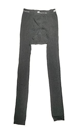 New Balance Calzamaglia Termica Uomo Pantaloni Invernali Uomo in Caldo Cotone Abbigliamento Termico Sci Pantalone Invernale Misure S M L XL Intimo Termico Design Ergonomico Sport (XL, Grigio)