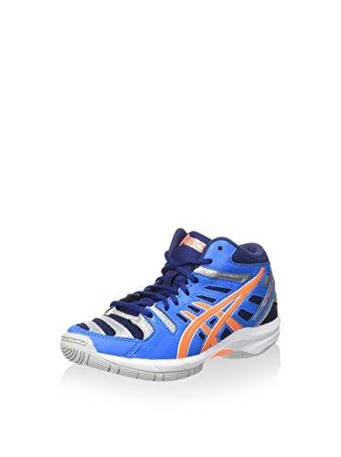 Asics Zapatillas Deportivas Gel-Beyond 4 MT GS Azul/Naranja/Azul Marino EU 33.5