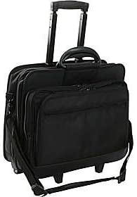 OFFer World Richman 8026-03 Rolling 17 Laptop - Briefcase New Free Shipping Inch Black