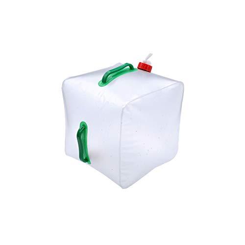 NYKK Plegable del envase del Agua Grado Alimenticio Camping Almacenamiento Portador de...