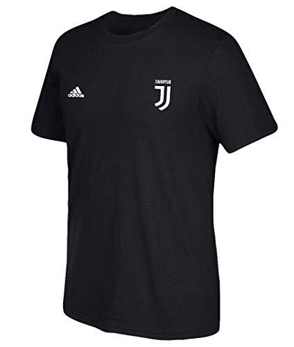 adidas Cristiano Ronaldo #7 Juventus Youth Player T-Shirt Black (Youth X-Large 18/20)