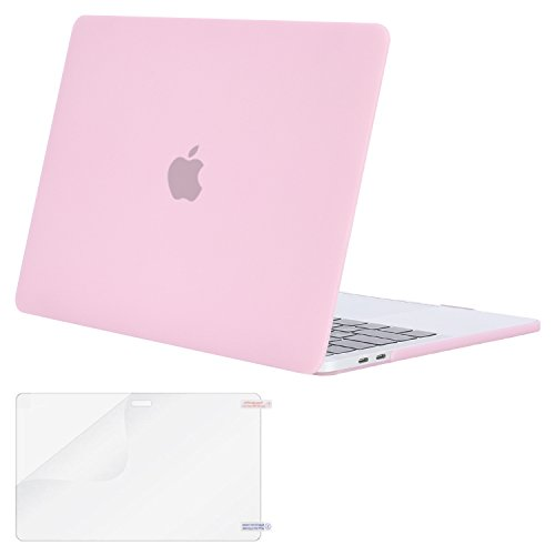 MOSISO Funda Dura Compatible con 2019 2018 2017 2016 MacBook Pro 15 con Touch...