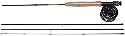 Shakespeare Sigma 4-Piece 7 Wt Fly Rod and Reel Combo by Shakespeare
