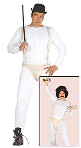 Guirca- Halloween Disfraz Adulto Crazy Gentelman T/52-54, Color Unico (84457)