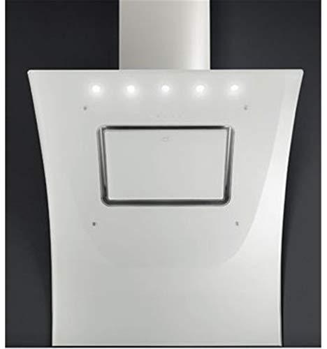 Diagonalhaube der Oberklasse * EEK A * mit Wandschutz GALVAMET OPERA 90 cm / Farbauswahl / hochwertig und qualitativ / * Funktion 24h Komfort * / Kopf-freie Dunstabzugshaube schräg Haube Wandhaube / Glas / ECO LED / Design und hergestellt in Italien