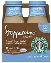 Starbucks Frappuccino Mocha Light Coffee Drink, 9.5 oz, 4pk(Case of 2)