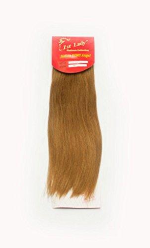 35,6 cm Premium indien Ange 100% Remy Extension de cheveux humains tissage 113 g # S6 (# 27)