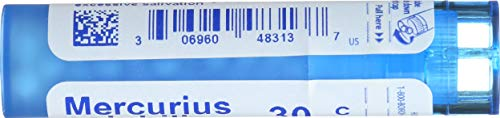 Boiron Mercuius Solunilis Homeopathic Remedie, 30C (80 Pellets)